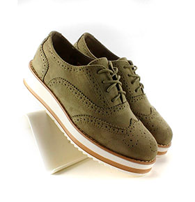 Sapatos Inello® 74715   Verde