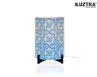 Candeeiro Temático Iluztra® | 'Azul+Desejo=Azulejo'