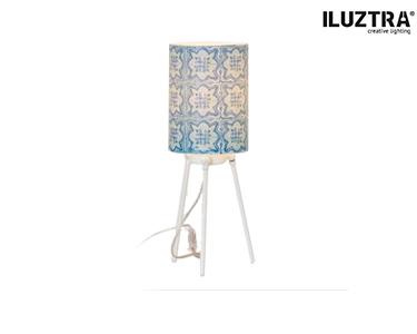 Abat-jour Iluztra® | 'Azul+Desejo=Azulejo'