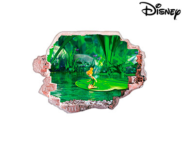 Vinil de Parede 3D Disney   Sininho, Reflexo!
