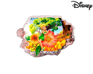 Vinil de Parede 3D Disney | A Fada Sininho