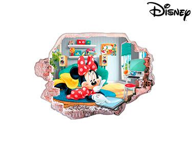 Vinil de Parede 3D Disney | Minnie