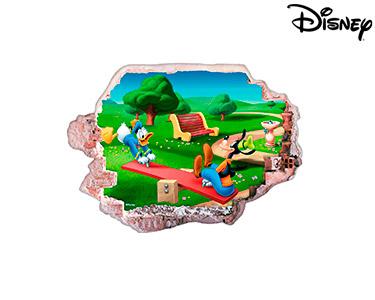 Vinil de Parede 3D Disney | Donald e Pateta
