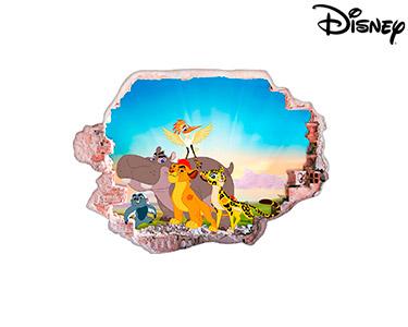 Vinil de Parede 3D Disney | Rei Leão
