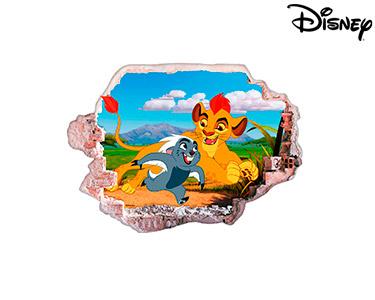 Vinil de Parede 3D Disney | Rei Leão, Simba