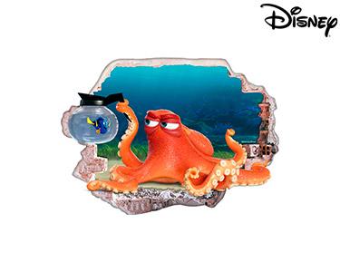 Vinil de Parede 3D Disney | Hank e Dóris