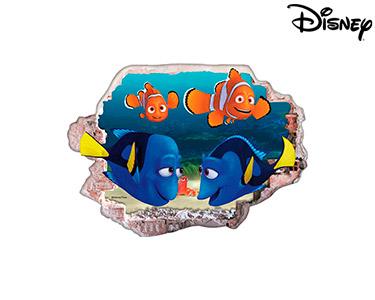 Vinil de Parede 3D Disney | À Procura de Dóris