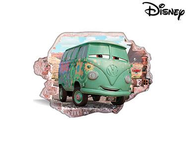 Vinil de Parede 3D Disney   Cars, Filmore