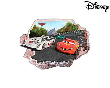 Vinil de Parede 3D Disney | Faísca e Shu Todoroki