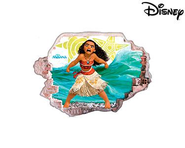 Vinil de Parede 3D Disney | A Moana