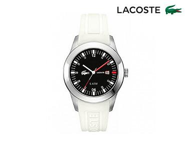 Relógio Lacoste® Advantage Gents Unisexo | Branco e Preto