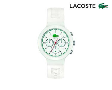 Relógio Lacoste® Borneo Unisexo   Branco e Verde