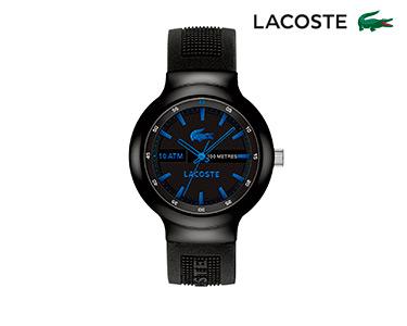Relógio Lacoste® Borneo Unisexo   Preto e Azul