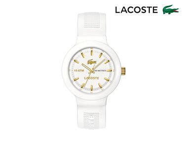 Relógio Lacoste® Borneo Unisexo | Branco e Dourado