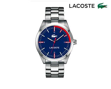 Relógio Lacoste® Montreal para  Homem | Prateado e Azul