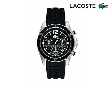 Relógio Lacoste® Seattle para  Homem | Prateado e Preto