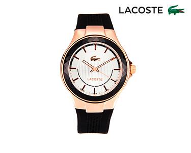 Relógio Lacoste® Acapulco para  Mulher | Preto e Dourado