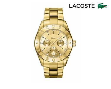 Relógio Lacoste® Biarritz para  Mulher | Dourado