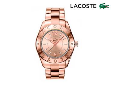 Relógio Lacoste® Biarritz para  Mulher | Dourado Rosa