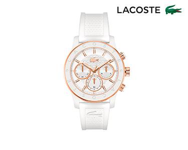 Relógio Lacoste® Charlotte para  Mulher | Branco e Dourado
