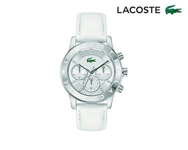 Relógio Lacoste® Charlotte para  Mulher | Branco e Prateado