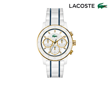 Relógio Lacoste® Charlotte para  Mulher | Branco e Azul