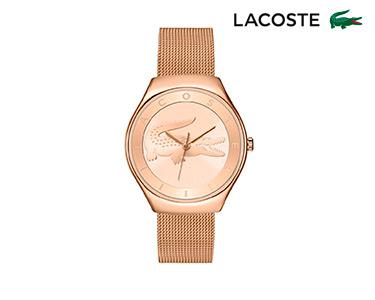 Relógio Lacoste® Valencia para  Mulher | Dourado Rosa