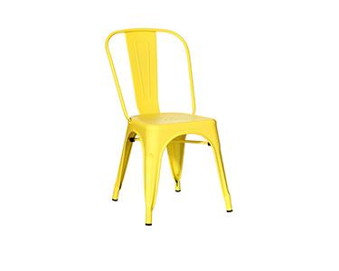 Cadeira Amarela Dallas Industrial