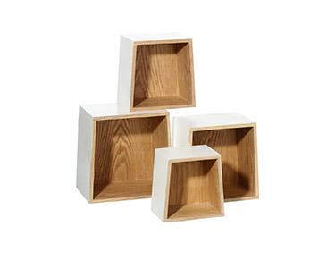 4 Estantes Formato Rectângulo