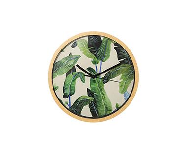 Relógio Circular de Parede | Verde-Natureza