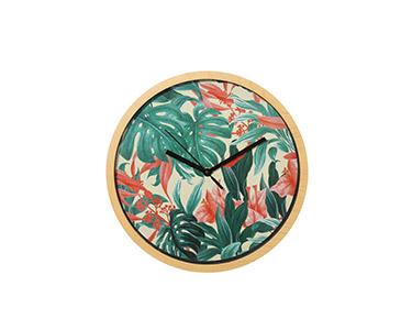 Relógio Circular de Parede | Planta