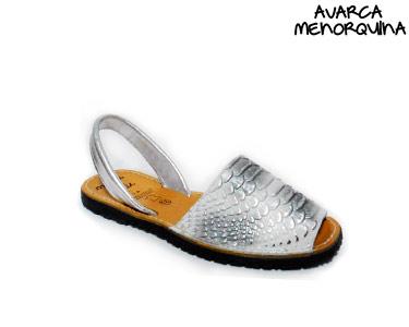 Avarca Menorquina® em Pele | Cobra
