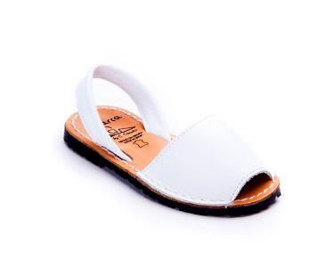 Sandálias Menorquina® em Pele | Branco