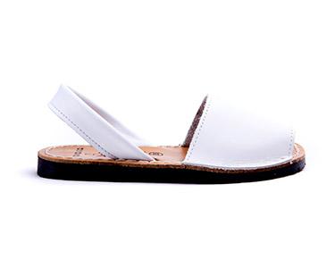 Sandálias Menorquina® em Pele   Branco