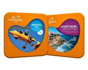 2 Presentes: Adrenalina Top & Portugal a Metade do Preço