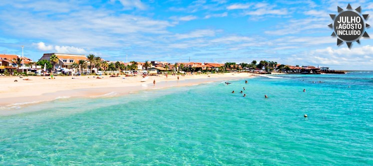 Água Hotels Sal Vila Verde | 3, 5 ou 7 Noites em T0 | Cabo Verde