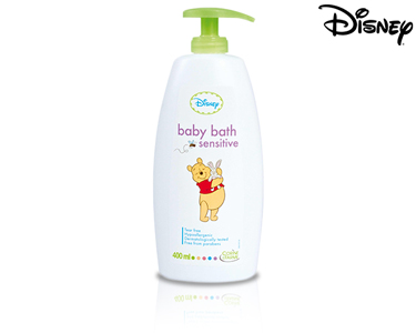 Espuma de Banho Sensitive Winnie the Pooh 400 ml | Corine de Farme