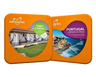 2 Presentes: Fugas 2 Noites + Portugal a Metade do Preço