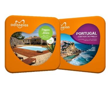 2 Presentes: Fugas a Dois + Portugal a Metade do Preço