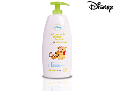 Gel de banho Cabelos e Corpo Sensitive Winnie the Pooh 400ml | Corine de Farme