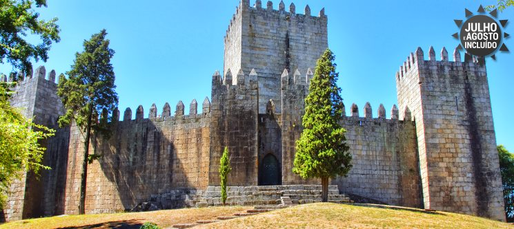 Romance em Guimarães! 1 a 3 Noites no Trovador Guest House
