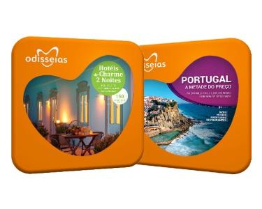 2 Presentes: Hotéis de Charme 2 Noites e Portugal a Metade do Preço