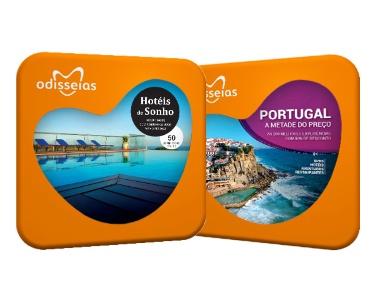 2 Presentes: Hotéis de Sonho + Portugal a Metade do Preço