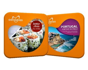 2 Presentes: Jantar a Dois + Portugal a Metade do Preço