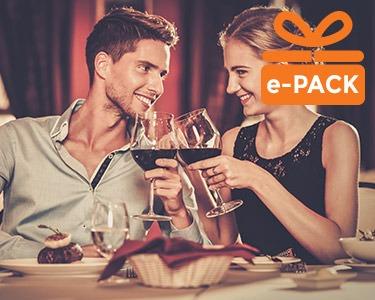 Presente Jantar Deluxe para 2 Pessoas | Momentos Saborosos à escolha entre 18 Restaurantes