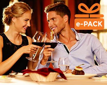 Presente Jantar Deluxe para 2 Pessoas | Momentos Saborosos à escolha entre 22 Restaurantes