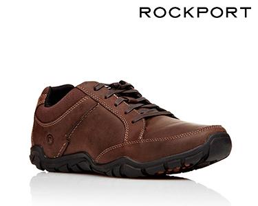 Sapatos Casuais Rockport® MudGuard | Castanho Escuro