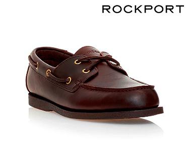 Sapatos Rockport® SeaMere 2 | Castanho Escuro
