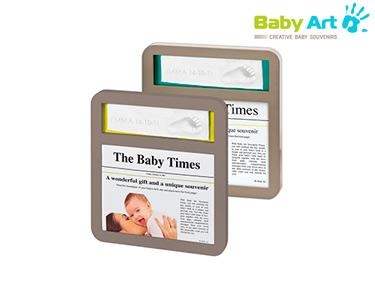 Moldura Baby Times | Baby Art®
