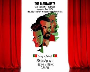 «The Mentalists» com Leandro Morgado | 20 de Agosto | Teatro Villaret